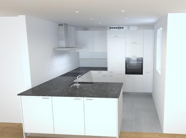 Küche 3.5-Zimmer-Wohnung